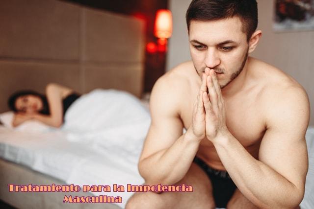 tratamiento para la impotencia masculina