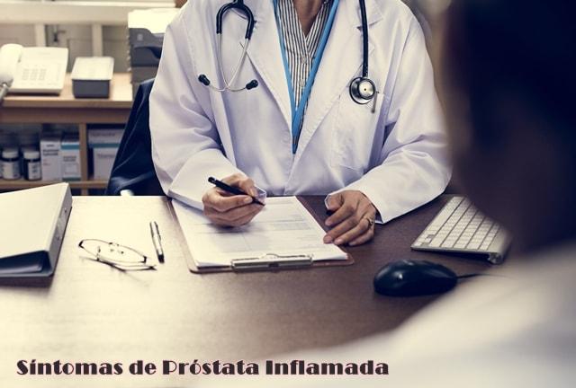 síntomas de próstata inflamada